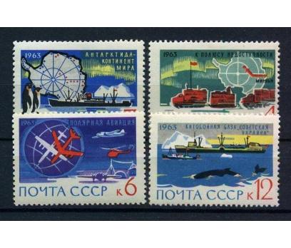 SSCB **1963 ANTARKTİKA BARIŞ KITASI TAM S.(100815)
