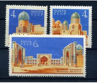 SSCB ** 1963 SEMERKANT ANITLARI TAM SERİ(110815)