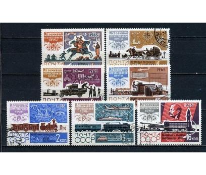 SSCB DAMGALI 1965 LENİN 3 TAM SERİ(070815)