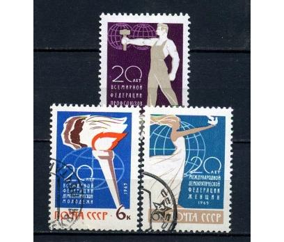 SSCB DAMGALI 1965 U.ÖRGÜTLER 20.Y.TAM S.(070815)