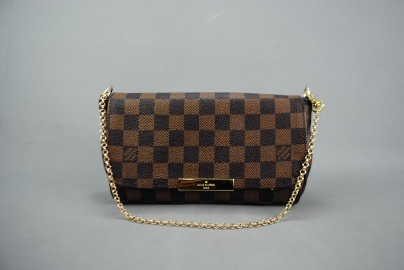 LOUIS VUITTON  DAMİER CANVAS FAVORİTE %100 DERİ 2