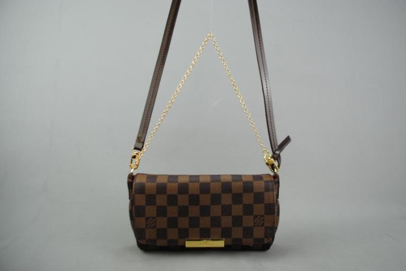 LOUIS VUITTON  DAMİER CANVAS FAVORİTE %100 DERİ 3