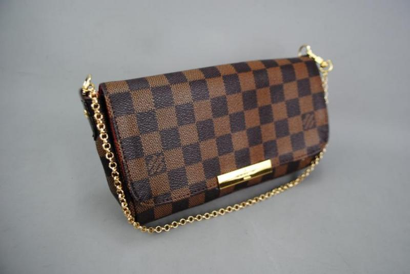 LOUIS VUITTON  DAMİER CANVAS FAVORİTE %100 DERİ 4