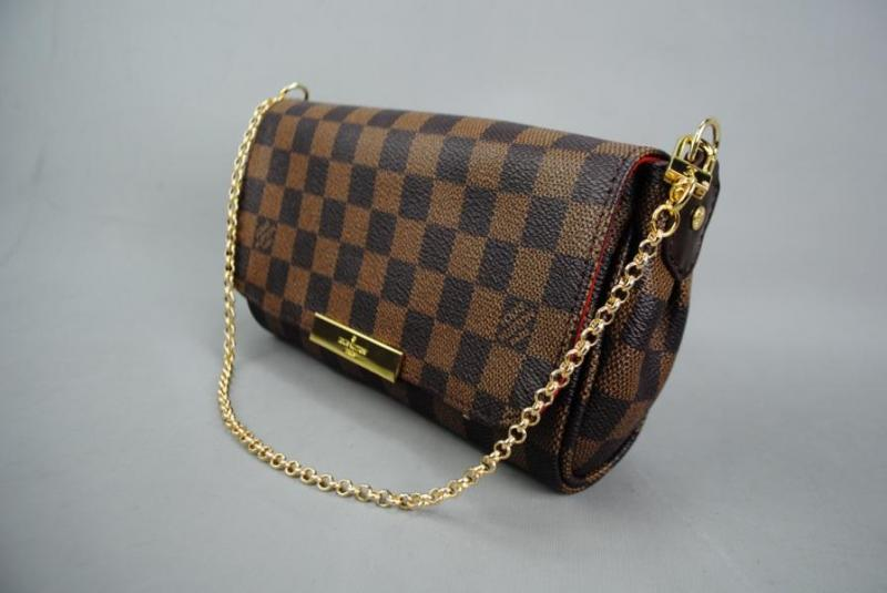 LOUIS VUITTON  DAMİER CANVAS FAVORİTE %100 DERİ 5