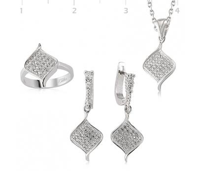 Gümüş Klasik Bayan Set