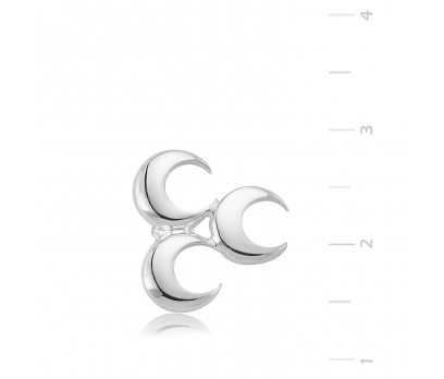 Gümüş Üç Hilal Rozet