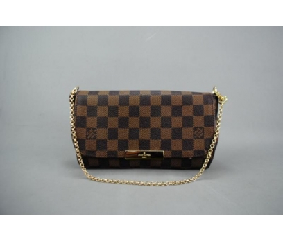 LOUIS VUITTON  DAMİER CANVAS FAVORİTE %100 DERİ 2 2x