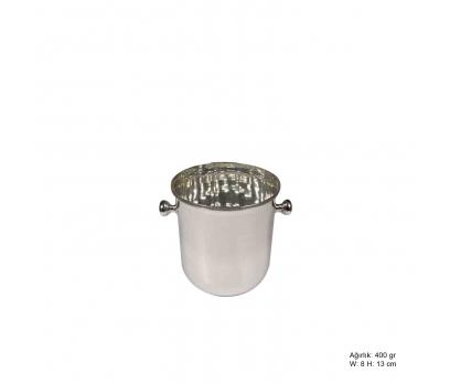 Rodyum Kaplama Gümüş Bardak