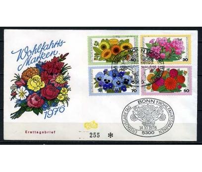 ALMANYA 1976 FDC ÇİÇEKLER SÜPER (020915)
