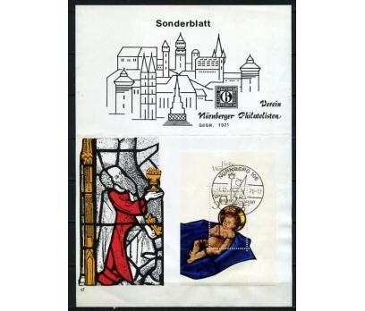 ALMANYA 1978 HATIRA KART CHRISTMAS SÜPER (060915)