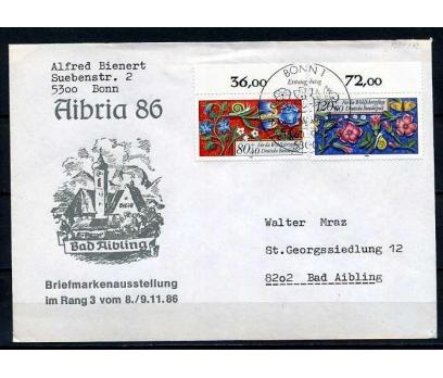 ALMANYA 1986 PGZ ÇİÇEKLER TEMALI PULLA(010915)