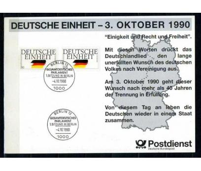 ALMANYA 1990 HATIRA KART BERLİN DUVARI (060915)