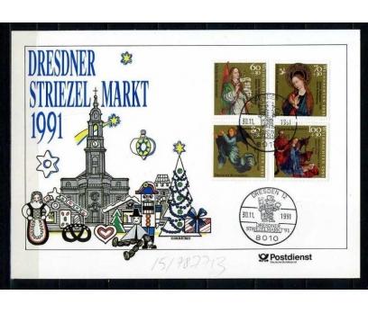 ALMANYA 1991 HATIRA KART CHRISTMAS SÜPER (060915)