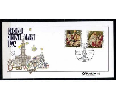 ALMANYA 1992 HATIRA KART CHRISTMAS SÜPER (050915)