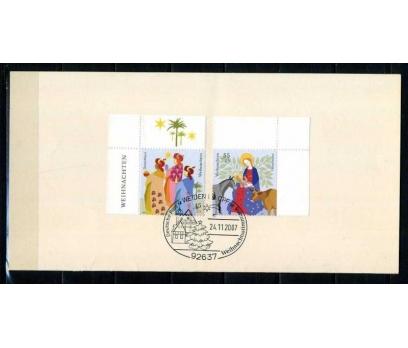 ALMANYA 2007 HATIRA KART CHRISTMAS SÜPER (050915)