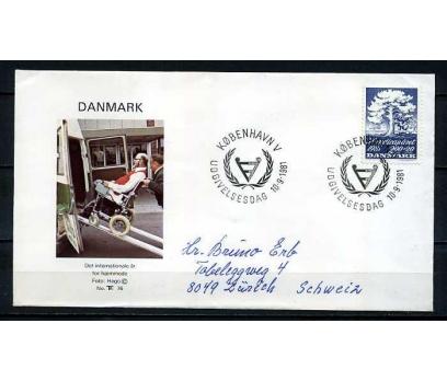 DANİMARKA 1981 FDC AĞAÇ & E.YILI SÜPER (030915)