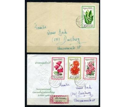 DDR PGZ 1966 ÇİÇEKLER TAM SERİ PULLA 2 Z.(010915)