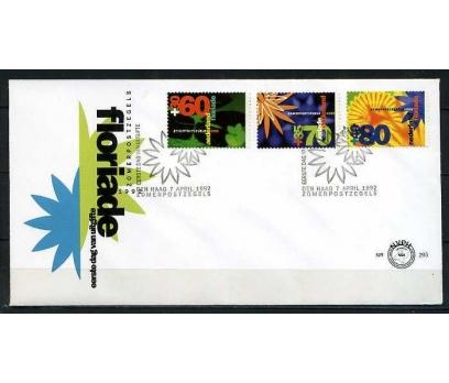 HOLLANDA 1992 FDC ÇİÇEKLER  SÜPER (020915)