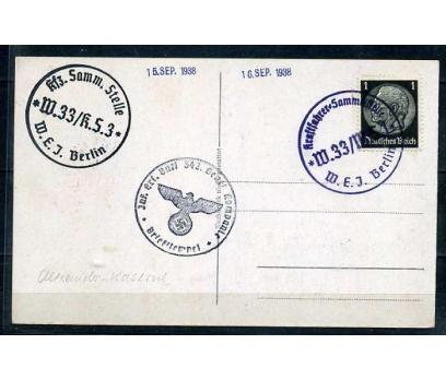 REİCH 1938  HATIRA KART BERLİN SÜPER (040915)