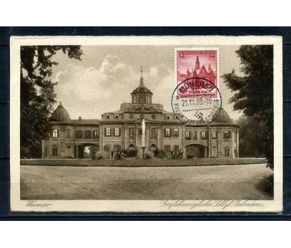 REİCH 1938  HATIRA KART WEİMAR  SÜPER (040915)