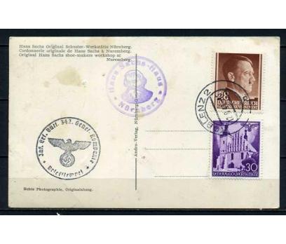 REİCH 1944 HATIRA KART NÜRNBERG SÜPER (050915)