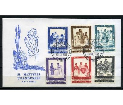 VATİKAN 1965 FDC UGANDA ŞEHİTLERİ SÜPER (030915)