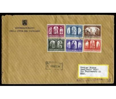 VATİKAN 1966 PGZ TAM SERİ PULLA SÜPER (030915)
