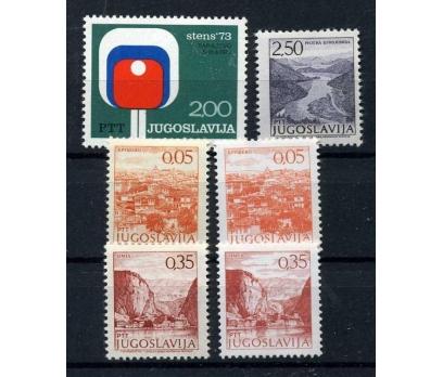 YUGOSLAVYA ** 1973  6 TAM SERİ SÜPER (110915)
