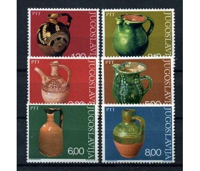 YUGOSLAVYA ** 1976 MÜZE & ÇÖMLEKLER TAM S.(100915)