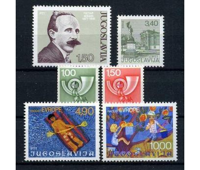 YUGOSLAVYA ** 1977  4 TAM SERİ SÜPER (100915)