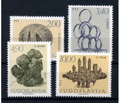 YUGOSLAVYA ** 1978 HEYKELLER TAM SERİ(100915)