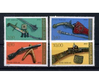 YUGOSLAVYA ** 1979 MÜZE & ESKİ SİLAHLAR (100915)