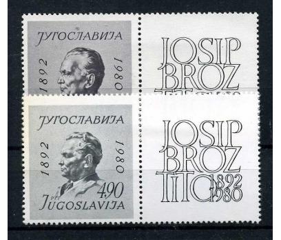 YUGOSLAVYA ** 1980 TİTO'NUN ÖLÜMÜ TABLI TS(110915)