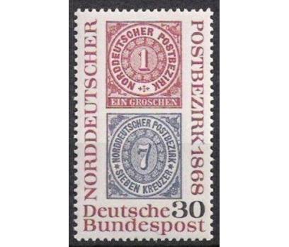 1968 Almanya Kuzey Almanya Pulculuk 100 Damgasız**