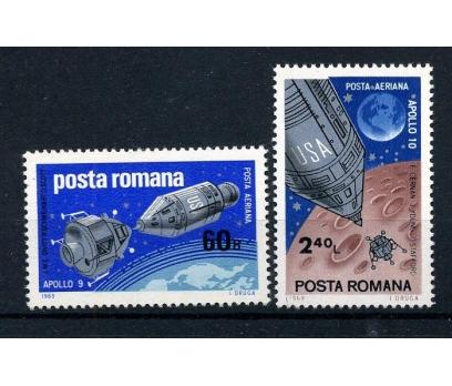 ROMANYA ** 1969 UZAY TAM SERİ (170915)