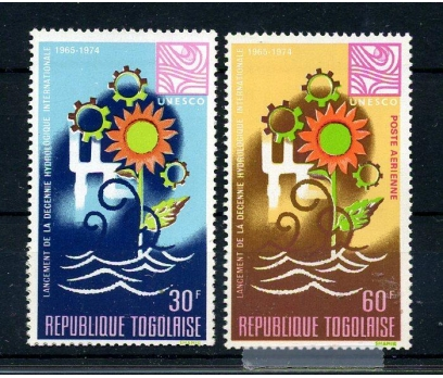 TOGO ** 1968 HİDROLOJİ TAM SERİ SÜPER (170915)