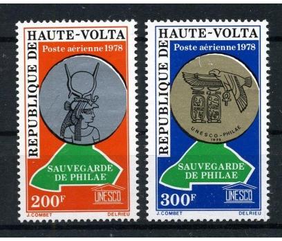 YUKARI VOLTA ** 1978 UNESCO UÇAK POSTA (170915)