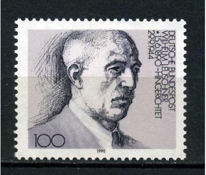 ALMANYA ** 1990 W.LEUSCHNER 100.D.YILI (240915)