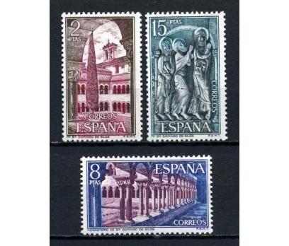 İSPANYA ** 1973 MANASTIRLAR TAM SERİ (230915)