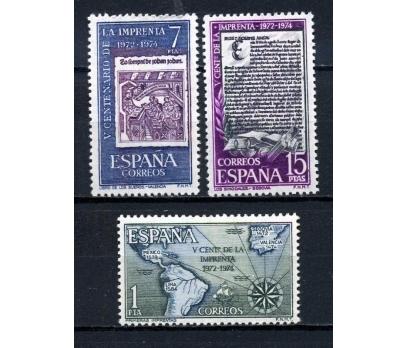 İSPANYA ** 1974 TİPO BASKI 500.Y TAM SERİ (230915)