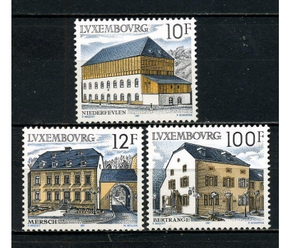 LUKSEMBURG ** 1987 KIRSAL MİMARİ TAM SERİ (230915)