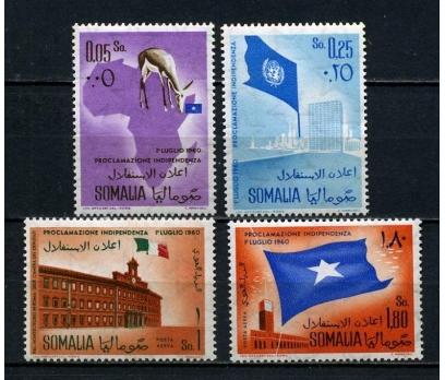 SOMALİ ** 1960 BAĞIMSIZLIK TAM SERİ SÜPER (031015)