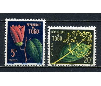 TOGO ** 1959 ÇİÇEKLER TAM SERİ SÜPER (220915)