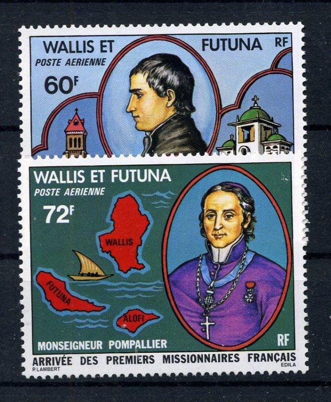 WALLIS FUTUNA ** 1978 MİSYONERLER TAM SERİ(210915) 1