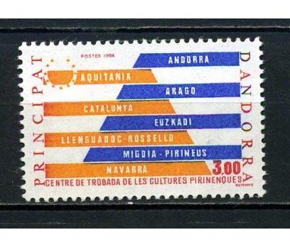 FR.ANDORRA** 1984 PİRENE KÜLTÜRÜ TAM S.(071015)