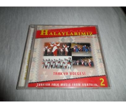 HALAYLARIMIZ 2 DAVUL ZURNA İLE TRAKYA BÖLGESİ CD