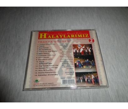 HALAYLARIMIZ 2 DAVUL ZURNA İLE TRAKYA BÖLGESİ CD 3