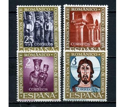 İSPANYA ** 1961 ROMANESK SANAT TAM SERİ (071015)