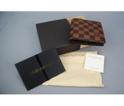 LOUIS VUITTON DAMİER CANVAS BOZUK PARA CEPLİ