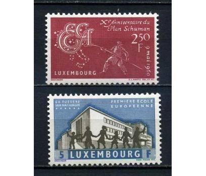 LUKSEMBURG ** 1960  2 TAM SERİ (081015)